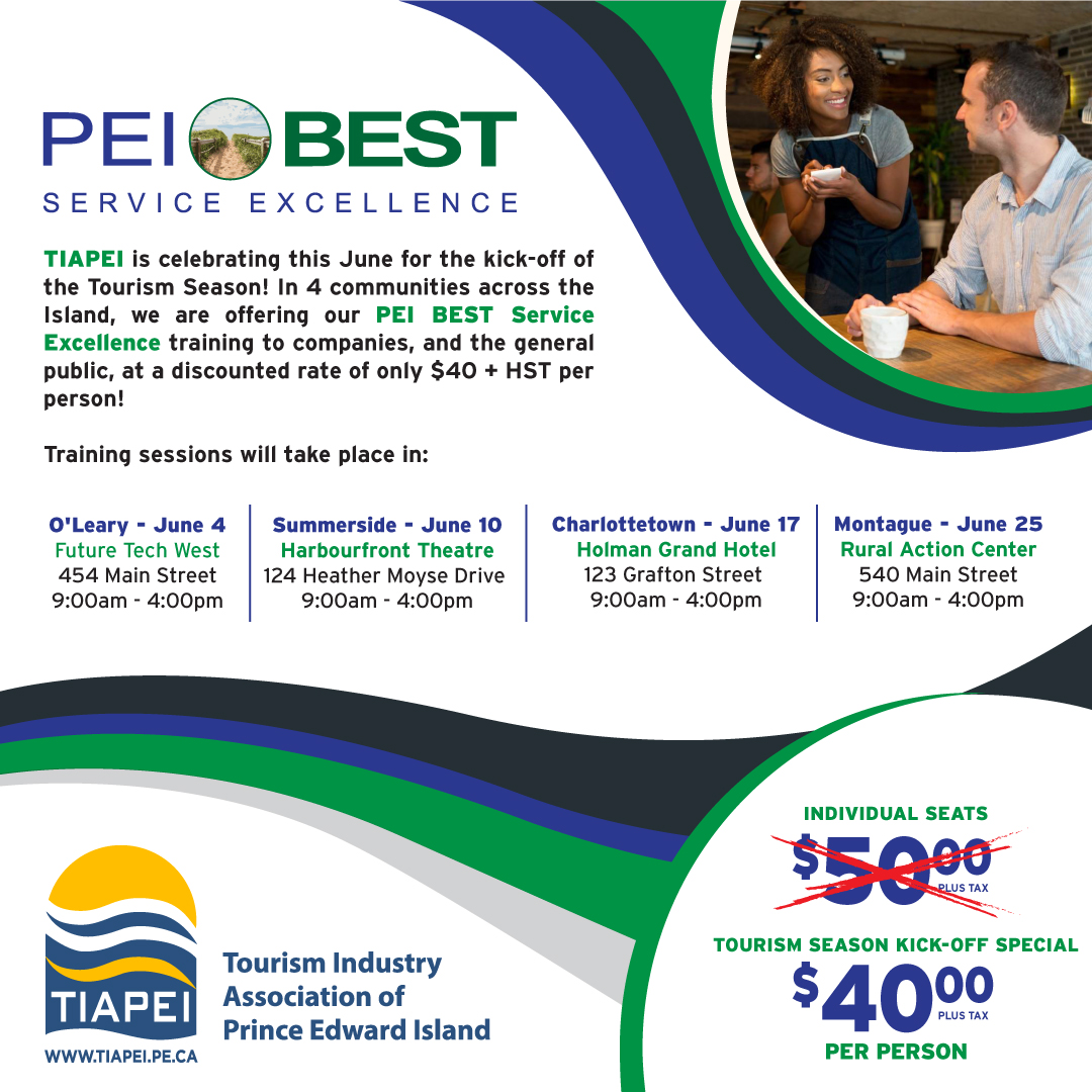 PEI BEST Service Excellence - Open Sessions